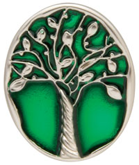 Artistree Green Tree Key Finder by Finders Key Purse