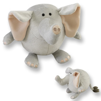 Elephant Lubies Plush Stuffed Animal