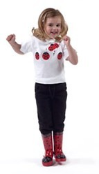 Embroidered Children's Cotton T-Shirt by Kidorable