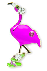 Finders Key Purse Flamingo Key Finder