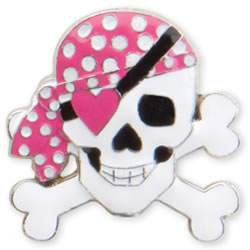 Girly Pirate Key Finder from Finders Key Purse Collection