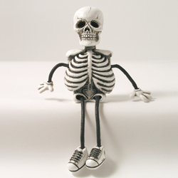 Critter Sitter Skeleton by Swibco