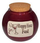 """Happy Hour Fund"" Change Jar by Muddy Waters"