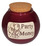 """Party Money"" Change Jar by Muddy Waters"