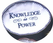 Mottahedeh Knowledge is Power Ring Tray