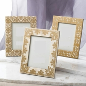 Gold Lace Picture Frame