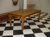 Pine Farm Table - BHE Custom