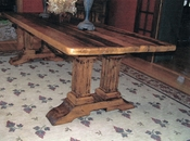BHE Fluted Trestle Table