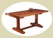 BHE Custom Country Trestle Table