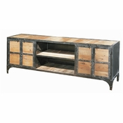 Industrial Flat Screen TV Console