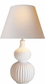 Tall Fluted Lamp