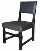 Square Leather Chair
