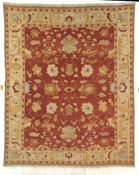Oushak Carpet Soft Red