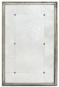 Antiqued Panel Mirror