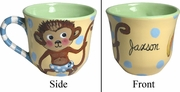Child's Line/Monkey Blue - Cup