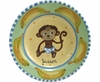 Child's Line/Monkey Blue - Deep Salad Plate
