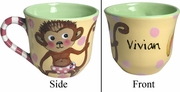 Child's Line/Monkey Pink - Cup