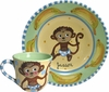 Child's Line/Monkey Blue - Child's Place Setting