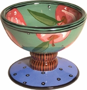 Apple - Pedestal Bowl