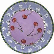 Fruit Frenzy/Cherry - Unrimmed Dinner Plate