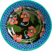 Moonlight Poppy - Big Rimmed Bowl