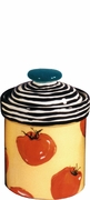 Black Spiral Veggie - Medium Canister