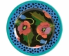 Moonlight Poppy - Rimmed Salad Plate