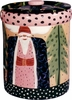 Father Christmas/Black - Cansiter Cookie Jar
