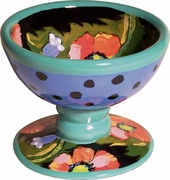 Moonlight Poppy - Pedestal Bowl