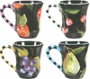 Maria's Fruit - Mug Set of 4