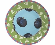 Fruit Frenzy/Plum - Unrimmed Salad Plate