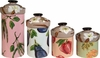 Vegetable Blossom - Canister Set of 4