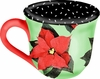 Poinsettia/Green - Cup