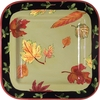Fall Leaves - Square Platter