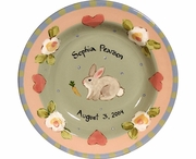 Child's Line/Bunny - Deep Salad Plate