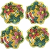 Tropical Flower - Dessert Cup Set of 4