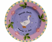 Child's Line/Goose - Deep Salad Plate