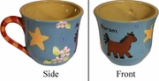Child's Line/Horse - Cup