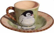 Child's Line/Penguin Peach - Child's Place Setting
