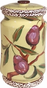 Nature's Fruit/Pear - Large Biscuit Jar