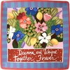 Celebration - Square Charger<br>PERSONALIZED