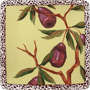 Nature's Fruit/Pear - Square Dinner Plate