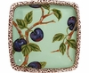 Nature's Fruit/Plum - Small Square Bowl