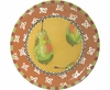 Fruit Frenzy/Pear - Unrimmed Salad Plate