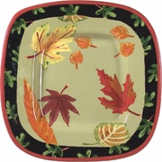 Fall Leaves - Small Square Platter