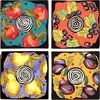 Dessert Fruit - Coaster Set of 4