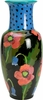 Moonlight Poppy - Small Chinese Vase