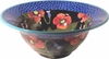 Moonlight Poppy - Tall Rimmed Bowl