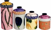Vegetable - Canister Set of 4