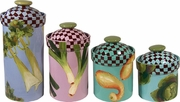 Garden Goodies - Canister Set of 4